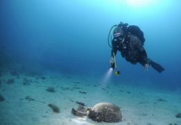 Underwater archeology, Historical parc, Mali Lošinj, Photo: M. Radović